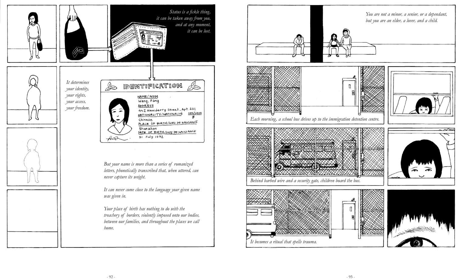 Chak Undocumented The Architecture Of Migrant Detention Draft 50