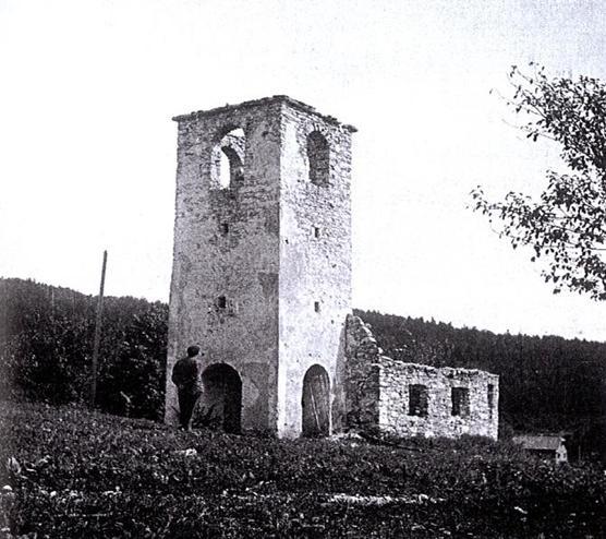 1 Church In Podstenice Koƒevsko Burnt During Ww2