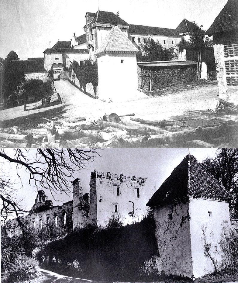 2 Castle Bottanj Before And After Burnin