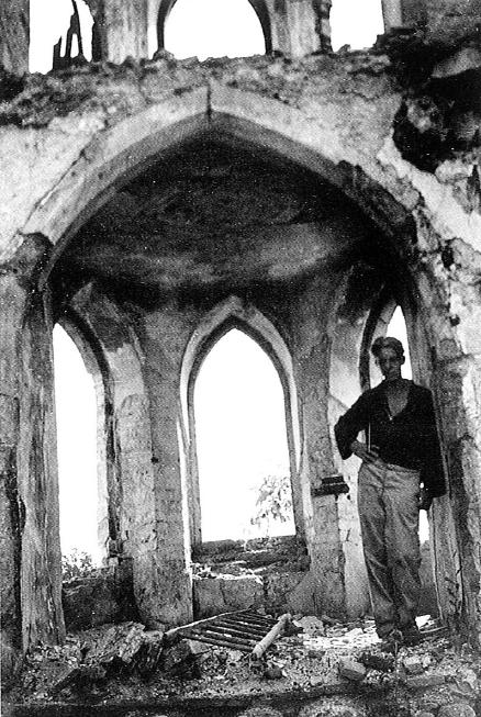 2 Chapel Of Castle Klevevº In 1947 Burnt Down In 1942 Today Only Traces Of Foundations Remain