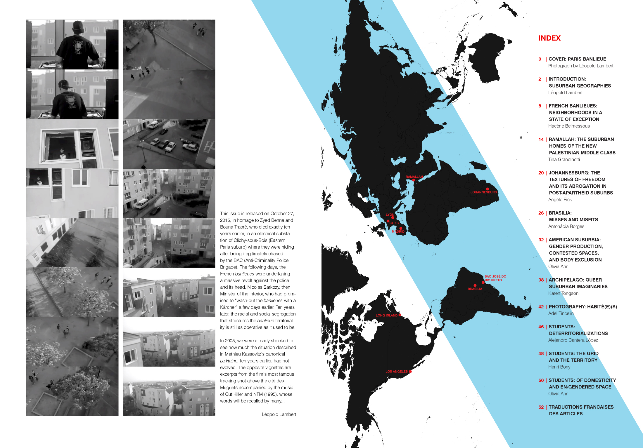 The Funambulist Magazine 2 - Edito