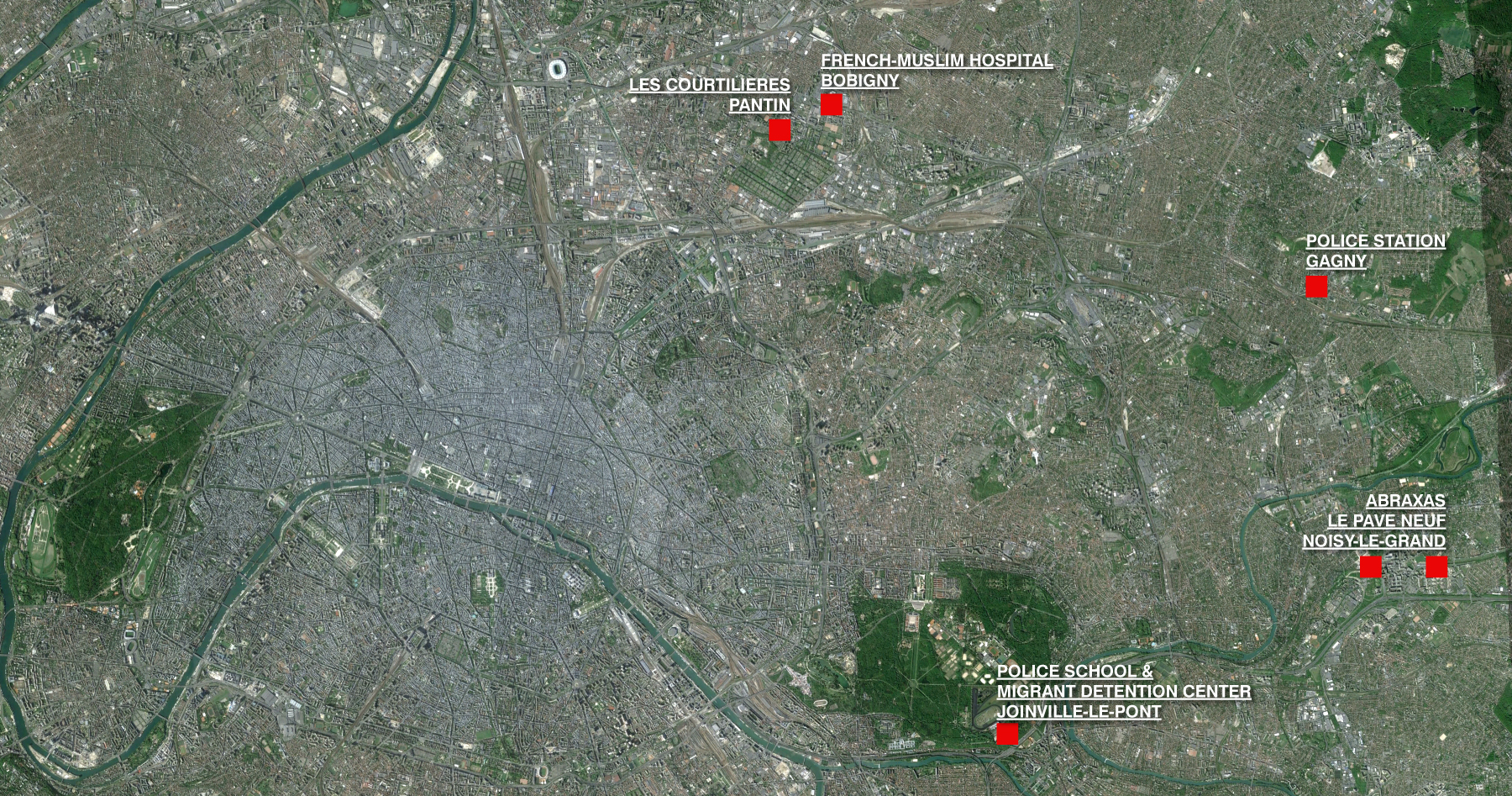 Banlieue Vignettes Map 1