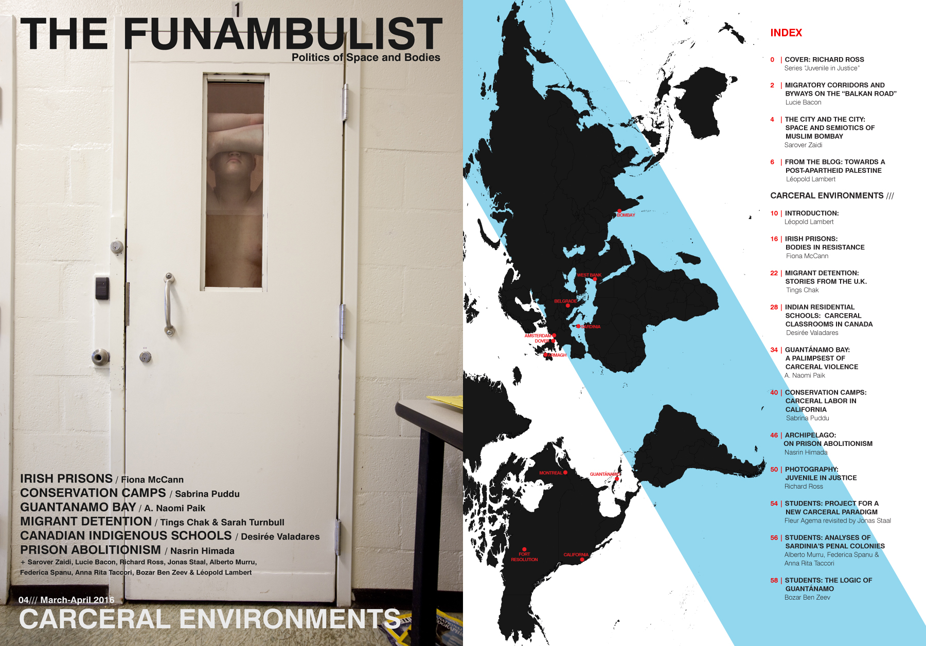 The Funambulist Magazine 04 Index