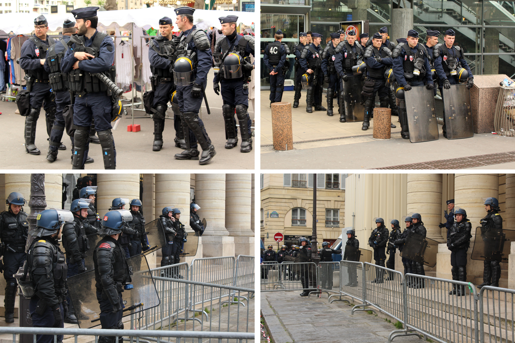 Police Paris 2016 - Photos by Leopold Lambert