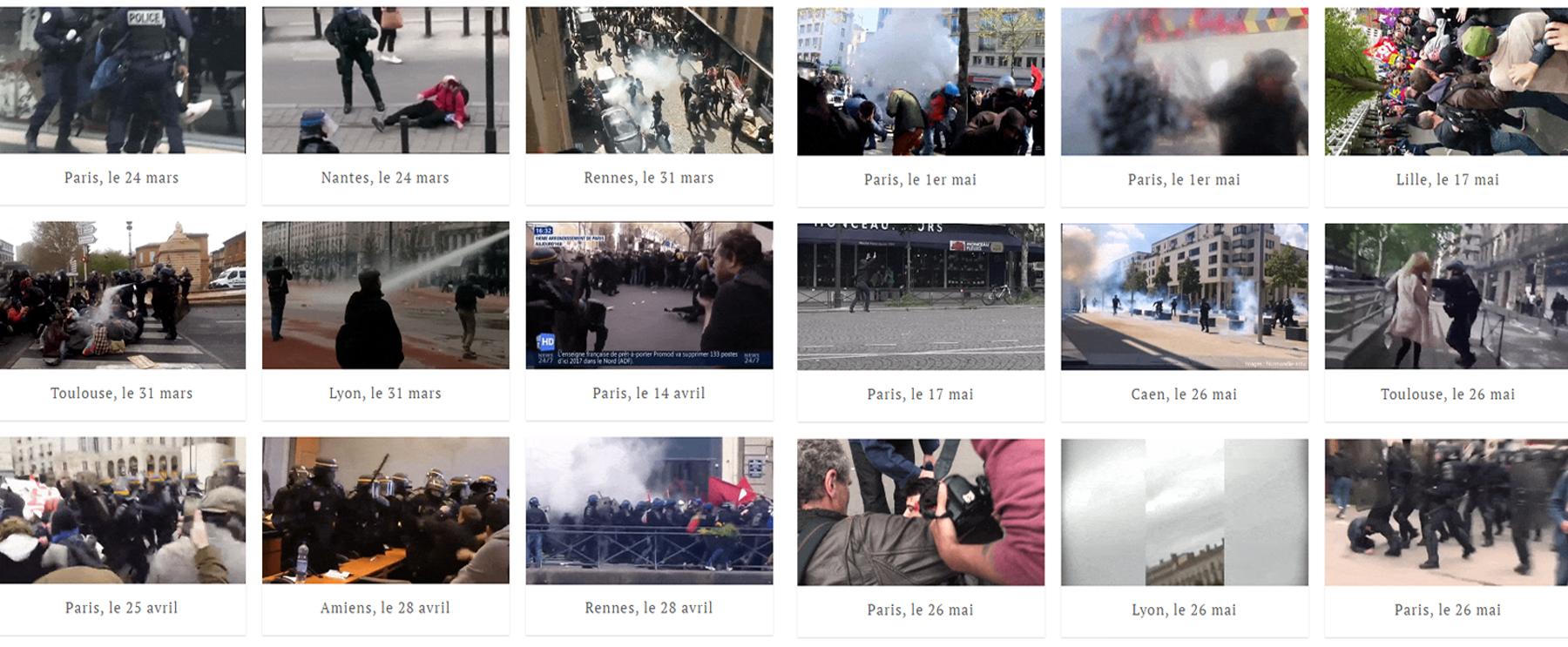 mediapart police violence france 2016