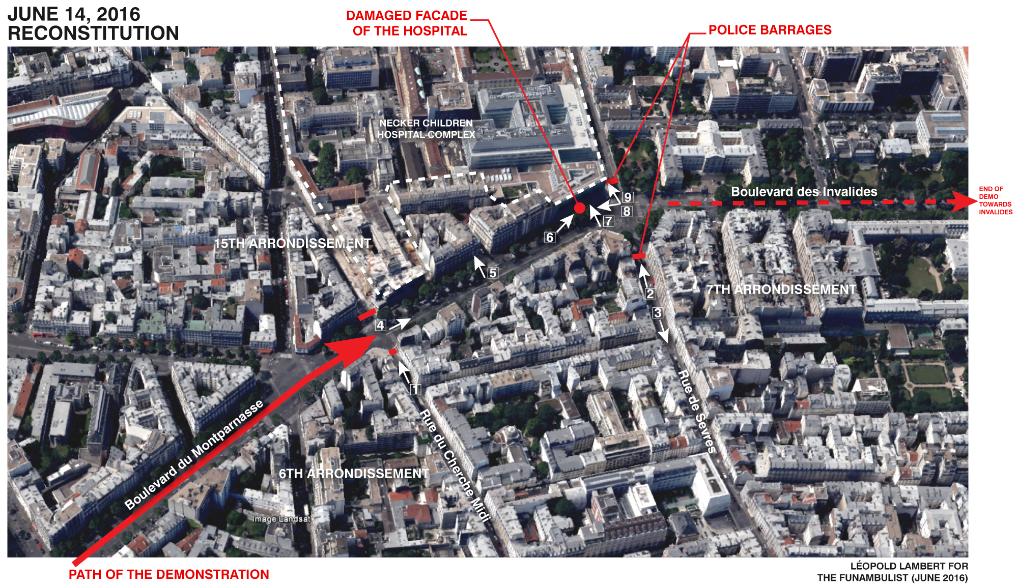 Map Funambulist June 14 Demo