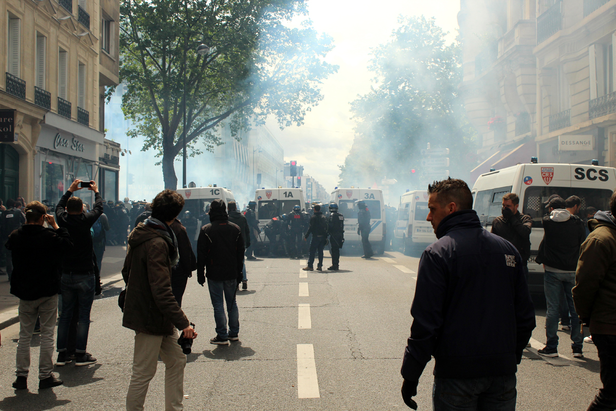 Paris Demonstration Police - Photo by Leopold Lambert (5)