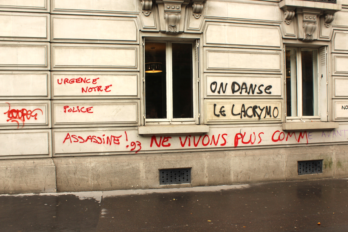 Paris Demonstration Police - Photo by Leopold Lambert (8)