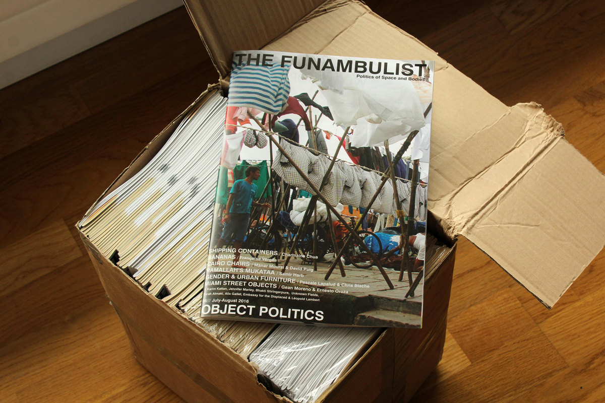 The Funambulist Magazine Behind the Scenes (4)