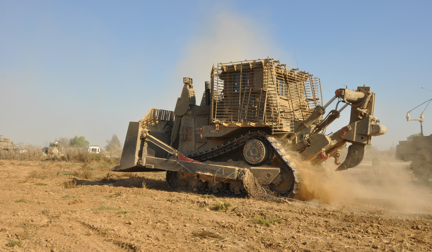 from standing rock to palestine the caterpillar bulldozers at